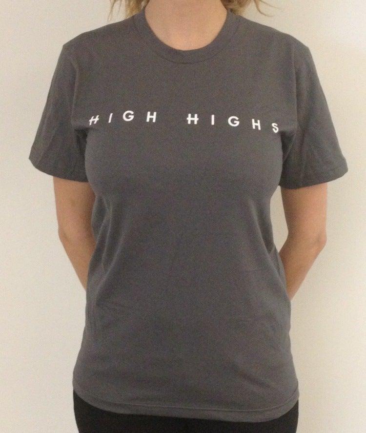 Image of High Highs Grey T-shirt