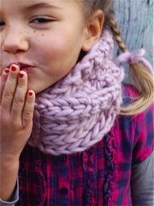"Image of Snood ""Little Lou"", alpaga & laine"