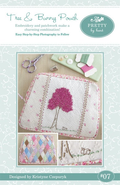 Image of PDF VERSION - Tree & Bunny Pouch Pattern