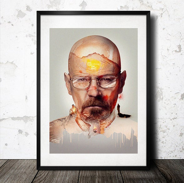 Image of Breaking Bad Poster Print