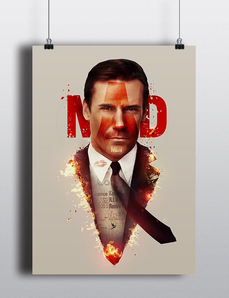 Image of Mad Men Poster Print