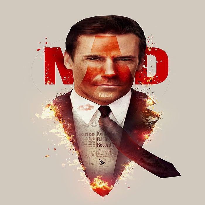 Image of Mad Men Poster Print