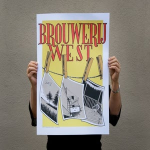 Image of Brouwerij West Print