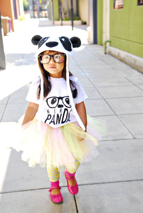 "Image of ""NerDy PanDa"" Kid's Tee"