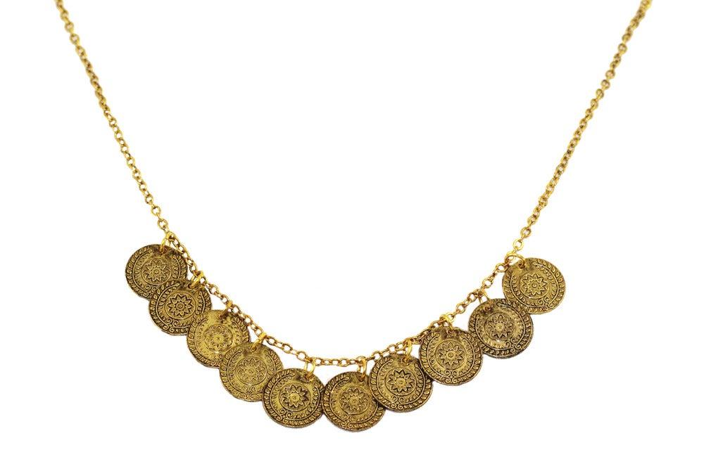Vintage Coin Necklace Hardcouture