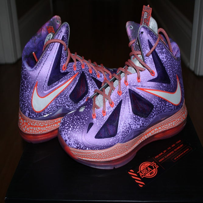 "Lebron X All Star ""Area 72"" / His Airness"