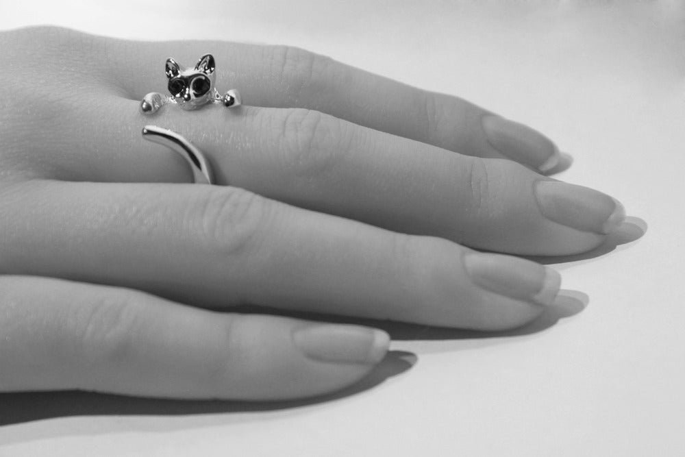 Image of Adjustable Cat Ring