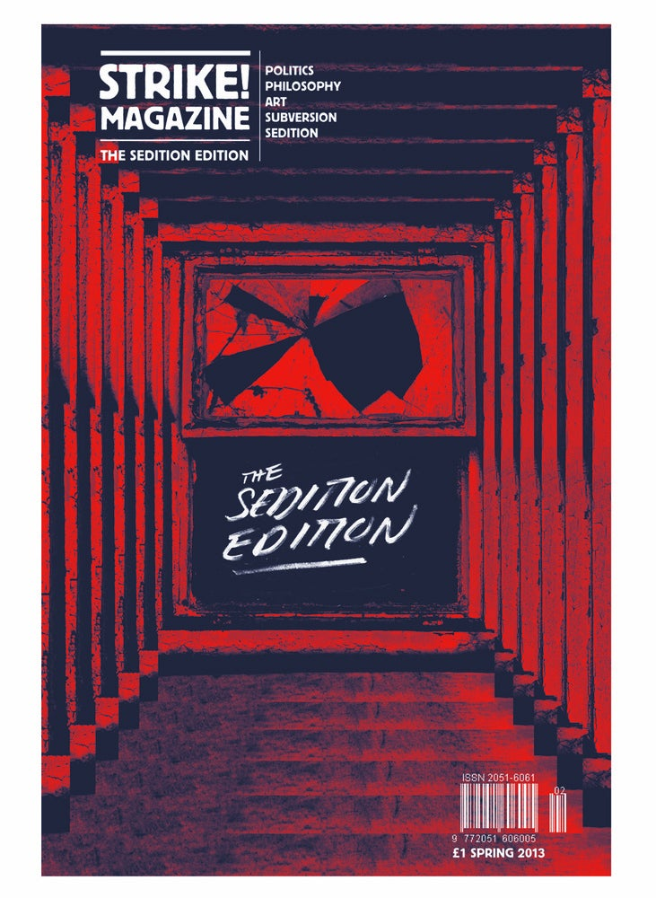 Image of STRIKE! Issue 2 'The Sedition Edition' SPRING 2013