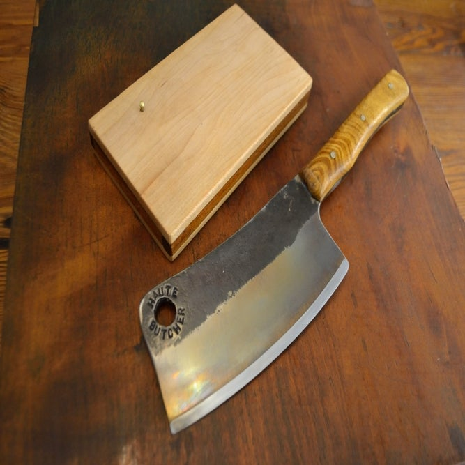 Image of Hand Forged D2 Tool Steel Cleaver