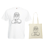 Image of Fake Major - Little Research Tee + Tote