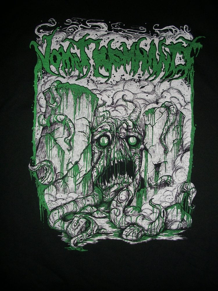 Image of VOMIT REMNANTS EXCLUSIVE T SHIRT (IN STOCK)