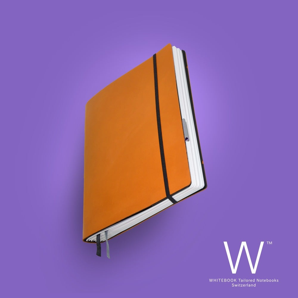 Image of WHITEBOOK STANDARD S043, cut boxcalf, Hermes orange