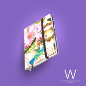 Image of Whitebook Haute Couture H010, flower print, duck cotton, 240p. (fits iPad / Air / Mini / Samsung)