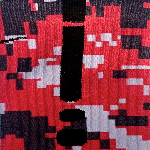 Image of Louisville Digital Camo Nike Elite Socks