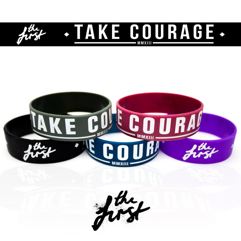 Image of Take Courage Wristbands