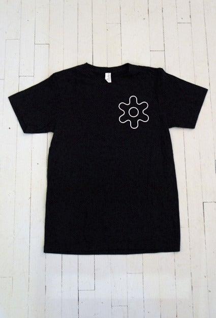 Image of MEN'S GEAR T-SHIRT IN BLACK