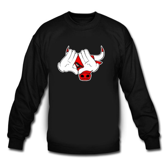 Image of Chicago Bulls Illuminati Crewneck