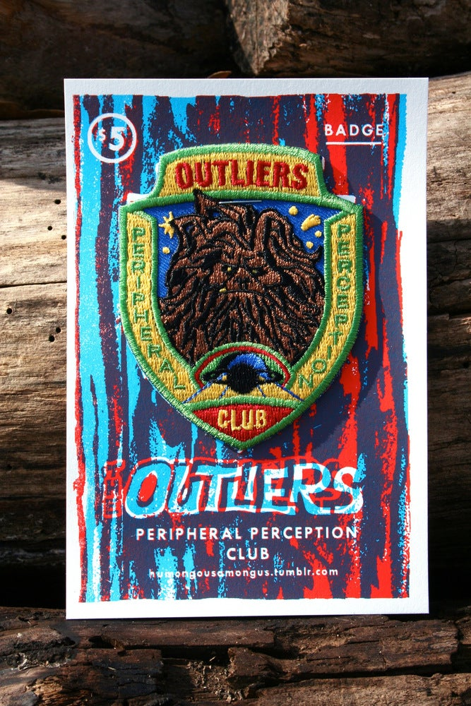 Image of Outliers Peripheral Perception Badge