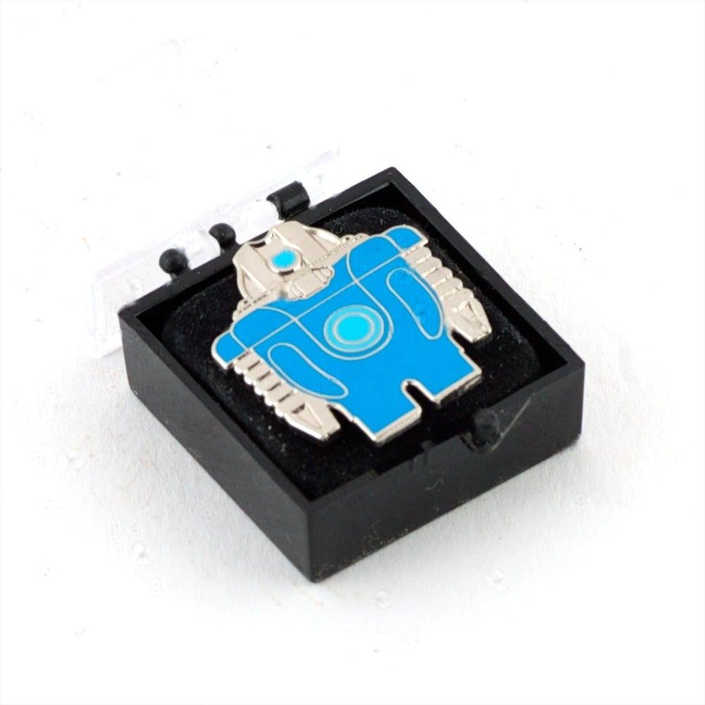 "Image of Renold Mk1 Blue or Pink / RID Tag / 1"" Enamel Pin Badge"