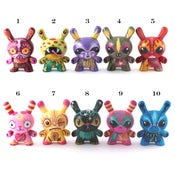 Image of The Toxic Ten - Custom Dunny series
