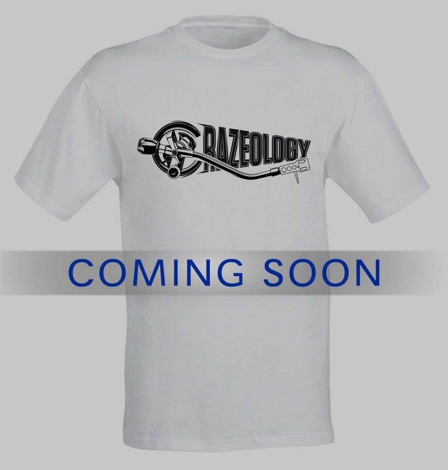 Image of t-shirt white - Crazeology Logo
