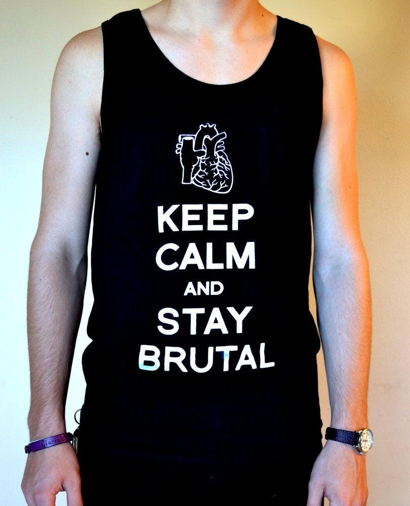 Stay brutal hoodie