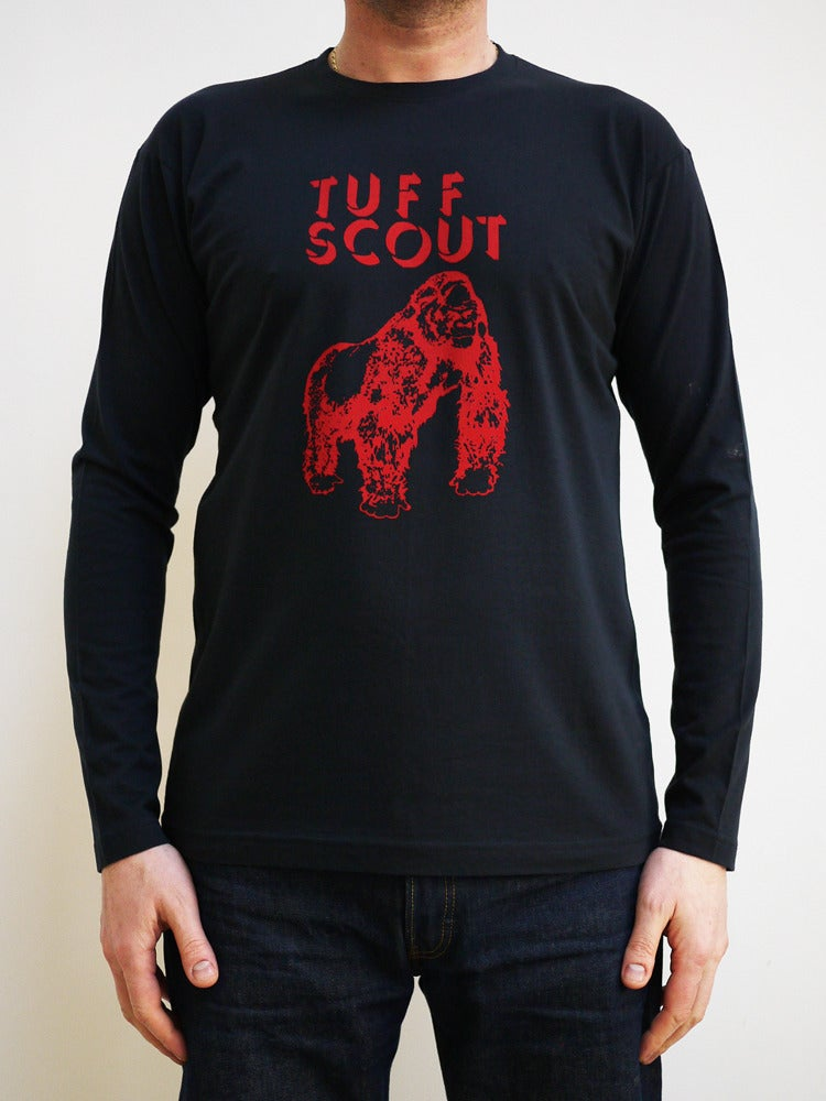 Image of Tuff Scout t shirt Navy Blue