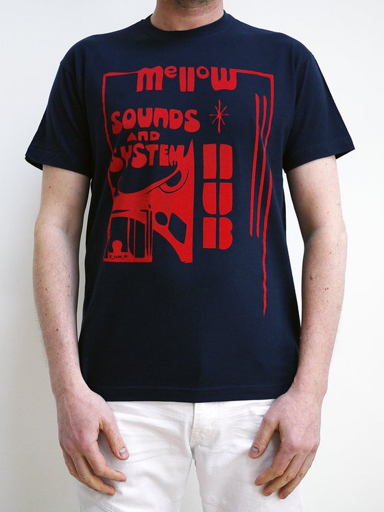 Image of Mellow Dub t shirt Navy Blue