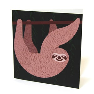 Image of Sloth Card