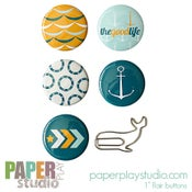 Image of Sea Salt - 6pc 'flair with flair' pack