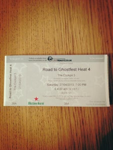 Image of Road To Ghostfest Ticket