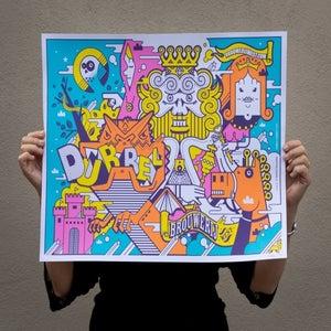 Image of dubbel print
