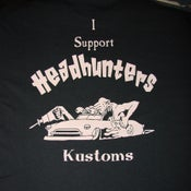 Image of Headhunters support shirts, USA price including shipping
