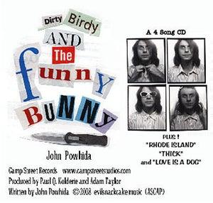 Image of John Powhida 'Dirty Birdy and the Funny Bunny' EP Digital Download