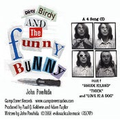 Image of John Powhida 'Dirty Birdy and the Funny Bunny' EP Digital Download