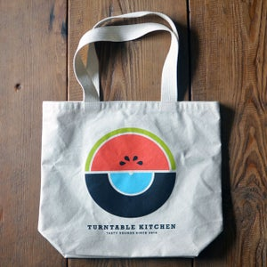 Image of Watermelon Market Tote with Record Pocket