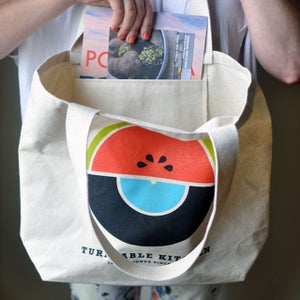 Image of Bag of Culinary and Sonic Awesomeness: Market Tote, Vinyl Record & Recipes