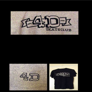 Image of 4D LOGO POCKET T
