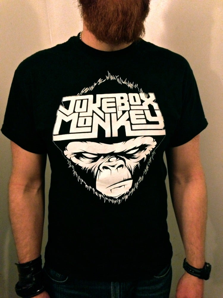 Image of Jukebox Monkey T-Shirt - Mens