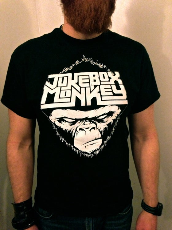 Image of Jukebox Monkey T-Shirt - Mens