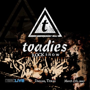 Image of Toadies : Rock Show (Live in Dallas, March 2007) CD