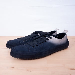 Image of Ann Demeulemeester - Dip-Dyed Classic Low-Top Trainers