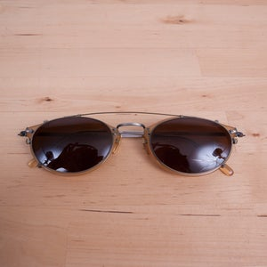 Image of Oliver Peoples - Vintage OP-505 BE P with Clip-On