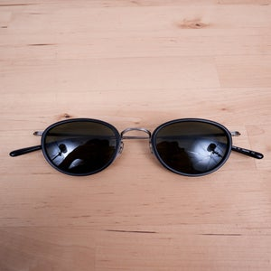 Image of Oliver Peoples Vintage - MP-2 Black Sunglasses