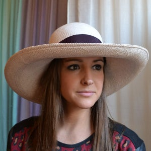 Image of wide brim beach hats