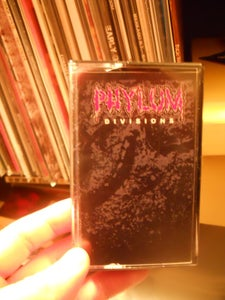 Image of PHYLUM 'DIVISIONS' EP CASSETTE