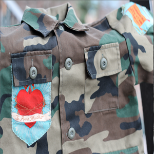 Image of Comandante Frida! Camo Jacket