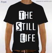 Image of T-Shirt Stacked Design (Black)