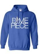 Image of DJ Dimepiece Royal Blue Hoodie
