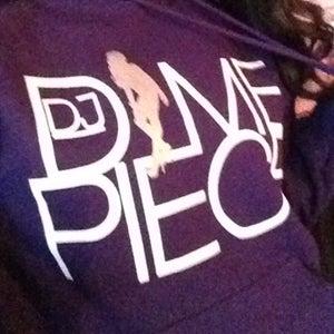 Image of DJ Dimepiece Purple Hoodie